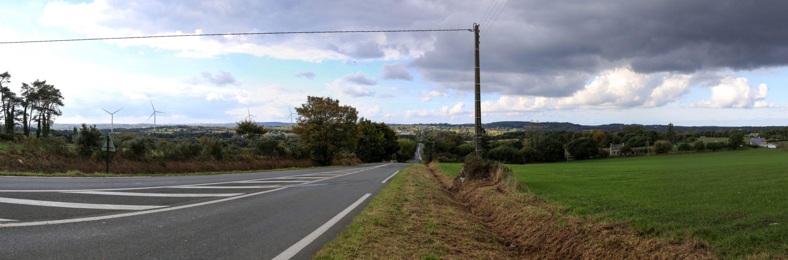 Parc éolien de Plounérin et Plounévez-Moëdec
